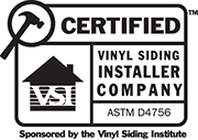 VSI Certified Vinyl Siding Installer in Pennsylvania